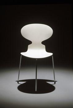 Arne Jacobsen, Ant chair, 1952. Via Fritz Hansen