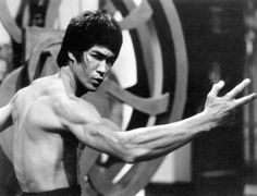 bruce lee - Arms and back are ridiculous. I'm getting back in shape