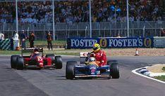 1991 - Great Britain - Silverstone - Mansell - Senna - Prost (Ferrari- Williams)