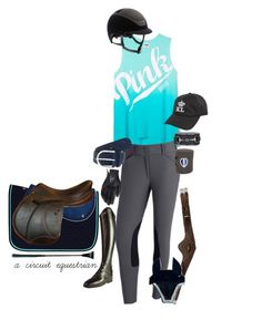 """""""voltaire, vs pink & kask"""" by a-circuit-equestrian on Polyvore featuring Parlanti and Kask"""