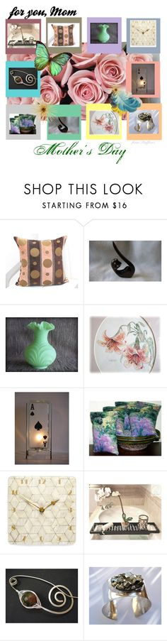 """""""for you, Mom"""" by stuffezes ❤ liked on Polyvore featuring interior, interiors, interior design, home, home decor, interior decorating, Fenton, Bodas, rustic and vintage"""