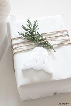 christmas gift wrapping ❥