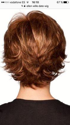 Thin Hair Cuts layer cut for thin curly hair Thin Hair Cuts, Short Hair With Layers, Short Hair Cuts For Women, Layered Hair, Layered Cuts, Short Cuts, Shaggy Short Hair Cuts, Short Hairstyles For Thick Hair, Summer Hairstyles