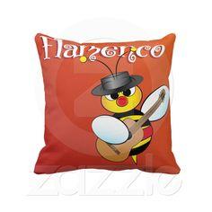 Flamenco Pillow from Zazzle.com
