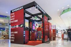 First Givenchy make-up pop up opens at LAX TBIT. The brand worked in partnership with retail-focused design and production agency Bloommiami.