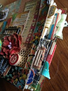 altered art journal. Bohemian Bazaar. Graphic 45. www.junquesoiree.blogspot.com