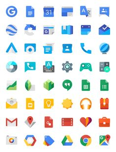 Visual design, specification guidelines, product branding, and system iconography for Google and Android's new design language