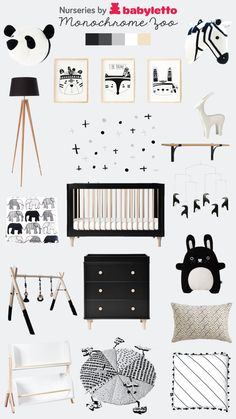 Monochrome nursery by babyletto baby bedroom furniture, jungle theme nursery, baby nursery diy, Zoo Nursery, Baby Nursery Diy, Baby Room Decor, Jungle Theme Nursery, Nursery Room, Nursery Decor, Panda Nursery, Kids Bedroom Boys, Baby Boy Rooms