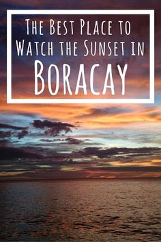 The best place to watch the sunset in Boracay in the Philippines is at Spider House Resort. BONUS: you can stay there!