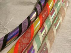 Custom Lace Color Shifting Morphing Hula Hoop 5/8 door DanceHoops