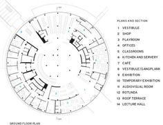 Alesia Museum plan by Bernard Tschumi ( Le Pré Haut, 21150 Alise-Sainte-Reine, France)