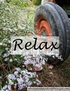 Relax – Thought for the Every Day. You've been working hard, take some time and Relax! #relax #inspiration #ThoughtForTheDay