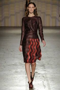 Marco de Vincenzo Fall 2014 Ready-to-Wear Collection Slideshow on Style.com
