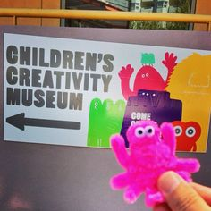 CCM pipe cleaner monster / I've been doing abroad workshops Mogol Art for the first time.