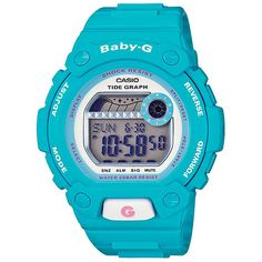 Baby-G G-LIDE timepieces for young women who seek out fun in the water, whether surfing, snorkeling or just wading around.