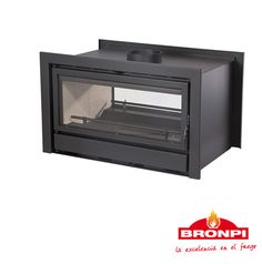 Insertable Bronpi Kenia 90 - D (dos bocas) Toaster, Kitchen Appliances, Home, Double Sided Fireplace, Kenya, Mouths, Fireplaces, Diy Kitchen Appliances, Home Appliances