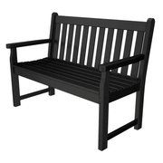 POLYWOOD® Traditional Recycled Plastic 48 in. Garden Bench