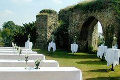 Schloss Hülchrath Hochzeit und Eventlocation Neuss Grevenbroich - Unsere Aussenanlage