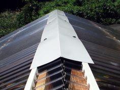 屋根の棟部分の処理2