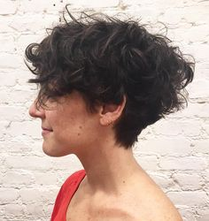 Short Tapered Haircut For Curly Hair