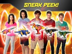 Orends: Range: Power Rangers Dino Charge Additional Character Info Revealed