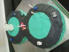 Love this cake and Josh turns 8 this year!