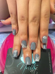 Nails art, acrylic nails