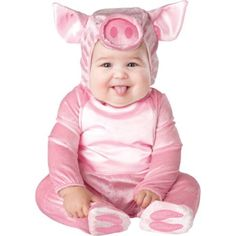 This Lil Piggy Baby Infant Costume - Infant Large Best Halloween Costumes & Dresses USA Baby First Halloween, Halloween Fancy Dress, Halloween Costumes For Girls, Costume Halloween, Jessie Halloween, Newborn Halloween, Couple Halloween, Halloween 2018, Halloween Nails