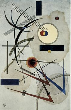 Grey-Blue,by Wassily Kandinsky                                                                                                                                                                                 More