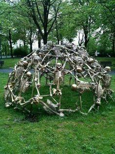 Skeletal Jungle Gym