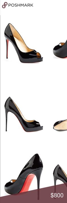 Christian louboutin Only work twice comes in original box and dust bag with receipt. Christian Louboutin Shoes Heels