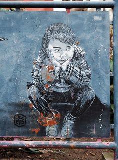 C215 street art #inspiration #urban #graffiti #painted