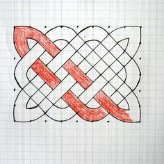 How to Draw a Celtic Knot Pattern by Michelle Houghton        Celt