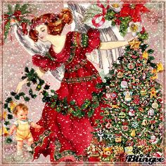 Christmas Snow Angel   my Art   Jane's Doll Closet