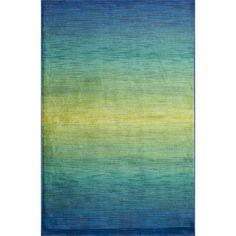 Skye Monet Waterfall Rug (7'7 x 10'5)   Overstock.com Shopping - Great Deals on Alexander Home 7x9 - 10x14 Rugs