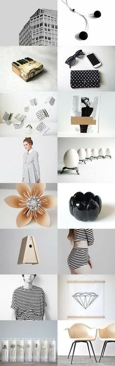 Modern summer by mélanie gibault on Etsy--Pinned with TreasuryPin.com