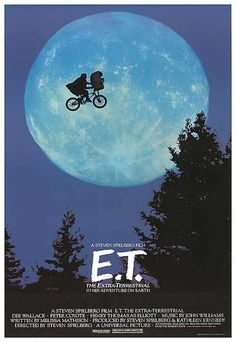 [ E.T. THE EXTRA-TERRESTRIAL POSTER ]