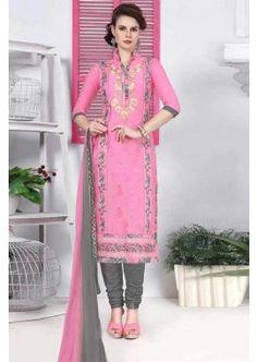 couleur rose coton glace salwar kameez, - 81,00 €, #Tenueindienne #Salwarkameezpascher #Lamodeexclusive #Shopkund