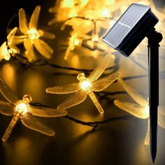 WYZworks Solar Fairy String Lights LED DRAGONFLY (Warm White) - 20 LEDs ** Quickly view this special deal, click the image : Seasonal Lighting for Christmas Solar Panel Cost, Solar Panels For Home, Landscape Arquitecture, Solar String Lights, Wall Lights, Ceiling Lights, Solar Led, Lawn And Garden, Room Inspiration