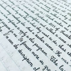 30 Unbelievably Satisfying Examples Of Perfect Handwriting - UltraLinx