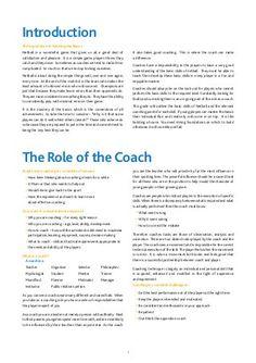 Coaching manual - Netball