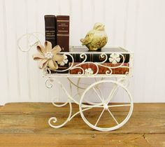 Metal Cart Choose your Color Decorative by ColorfulCastAndCrew
