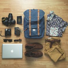 travel packing grid