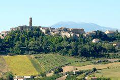 Panoramiche di Petritoli. #marcafermana #petritoli #fermo #marche