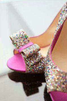 Pink, glitter!