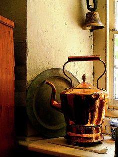 Copper tea kettle (source: pinterest.com)