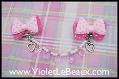 Tutorial- Sweater Clips by Violet LeBeaux, via Flickr