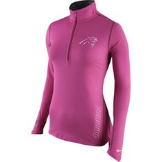 Image for Nike Women s Carolina Panthers BCA Element 1 2 Zip Top from  Academy Seattle 1ed29752c