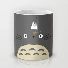 Cute Totoro Mug by Minette Wasserman | Society6
