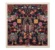 Festive Flamingo Print Scarf | Salvatore Ferragamo